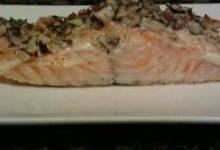 Hazelnut-Crusted Salmon