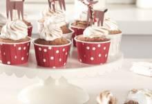hazelnut cupcakes with nutella® hazelnut spread
