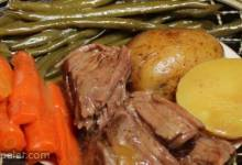 Healthier (but still awesome) Awesome Slow Cooker Pot Roast