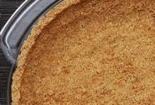 healthier graham cracker crust