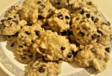 healthy honey breakfast cookies