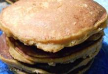 Healthy Pumpkin Banana Pancakes (Paleo Option)
