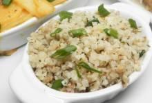herbed cauliflower rice