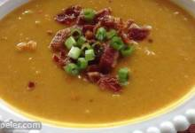 Holiday Apple Butternut Squash Soup