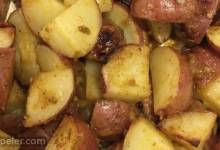 Honey-Mustard Roasted Potatoes