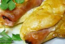 Honey Mustard Stuffed Chicken Breasts