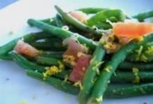 Honey Orange Green Beans