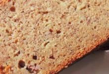 honey-spice whole wheat banana bread