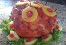 Honeydear's Holiday Pineapple Baked Ham