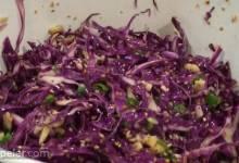 Japanese-Style Cabbage Salad