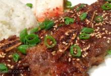 Kalbi (Korean Marinated Short Ribs)