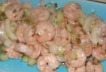 kiki's sweet and spicy marinated shrimp