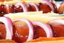 Killer Bacon-Cheese Dogs