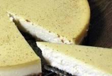 kim's eggnog cheesecake