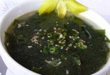 Korean-style Seaweed Soup