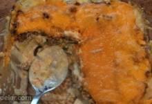 Leftover Meatloaf Tater Tot Casserole