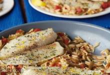 Lemon and Herb Fish Skillet