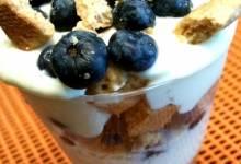 lemon blueberry yogurt parfait