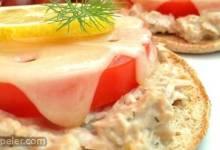 Lemon-Dill Tuna Melt Sandwiches