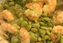 lemongrass shrimp and rice