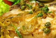 lemony pork piccata