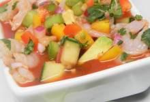 light and fresh mexican gazpacho