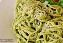 Light Lemon Pesto Pasta