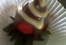 liquor-nfused chocolate strawberries