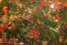 Lisa's Co-op Kale Soup