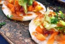 low-carb jicama tostadas