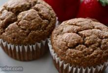 Lower-Carb Banana Protein Muffins