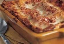 Luma's Beef and Veg Lasagna with Eggplant Sauce