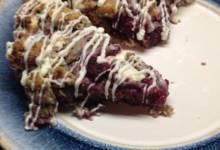 luscious raspberry scones