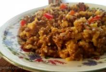 Magnificent Cheesy Brown Rice