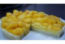 Mango Custard Pie