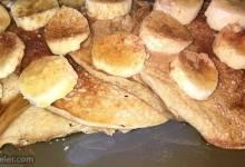 maple syrup and banana sauce