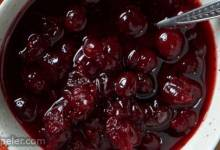 Maple Syrup Cranberry Sauce