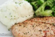Marinated Ranch Broiled Chicken