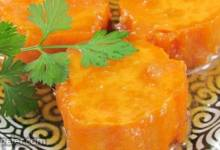 Marjorie's Maple Vanilla Sweet Potatoes
