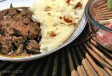Masala Beef with Ginger and Curry Leaf