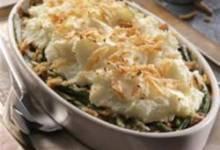 Mashed Potato Topped Green Bean Casserole