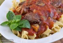 Melt-in-Your-Mouth Beef Cacciatore