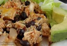 Mexi-Quinoa Chicken Casserole