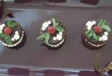 Mexican Hot Chocolate Brownie Tortes