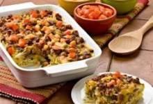 mexican potato sausage casserole