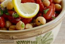 Middle Eastern Bean Salad