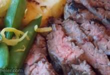 Miso-Glazed Skirt Steak