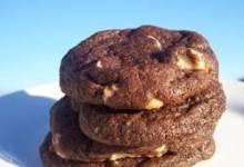 mocha white chocolate chunk cookies