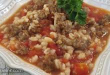 Mom's talian Beef Barley Soup