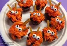 Monster Mini Cupcakes